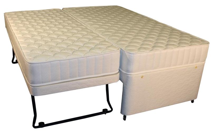 Silver Zoned Pocket Guest Bed
