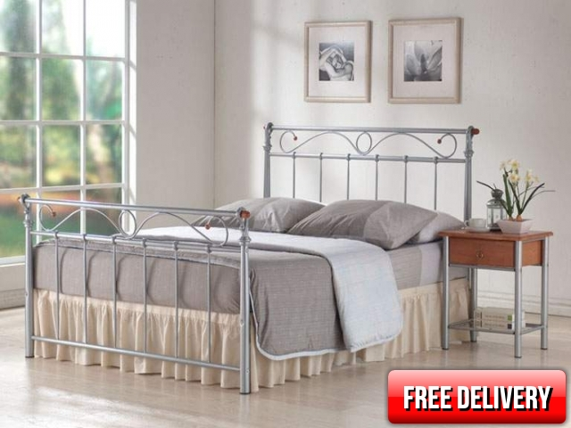 5ft Coimbra Metal Bed Frame