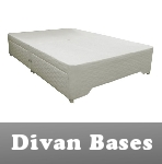 divan bases -in this section you will find our complete range of divan bases without a mattress, with all the same storage options