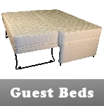 divan beds - open coil and pocket sprung, available with a number of storage options, in sizes 2ft6 to 6ft