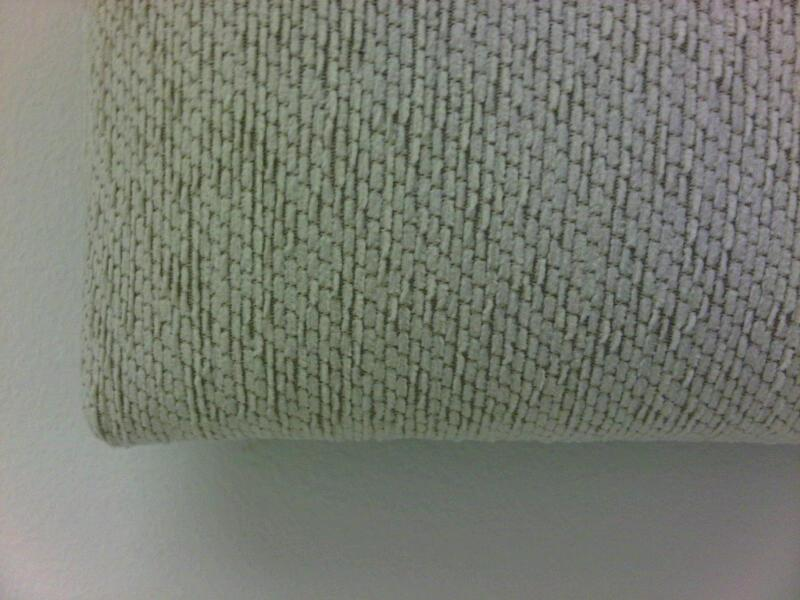 3ft Oatmeal Chenille Headboard