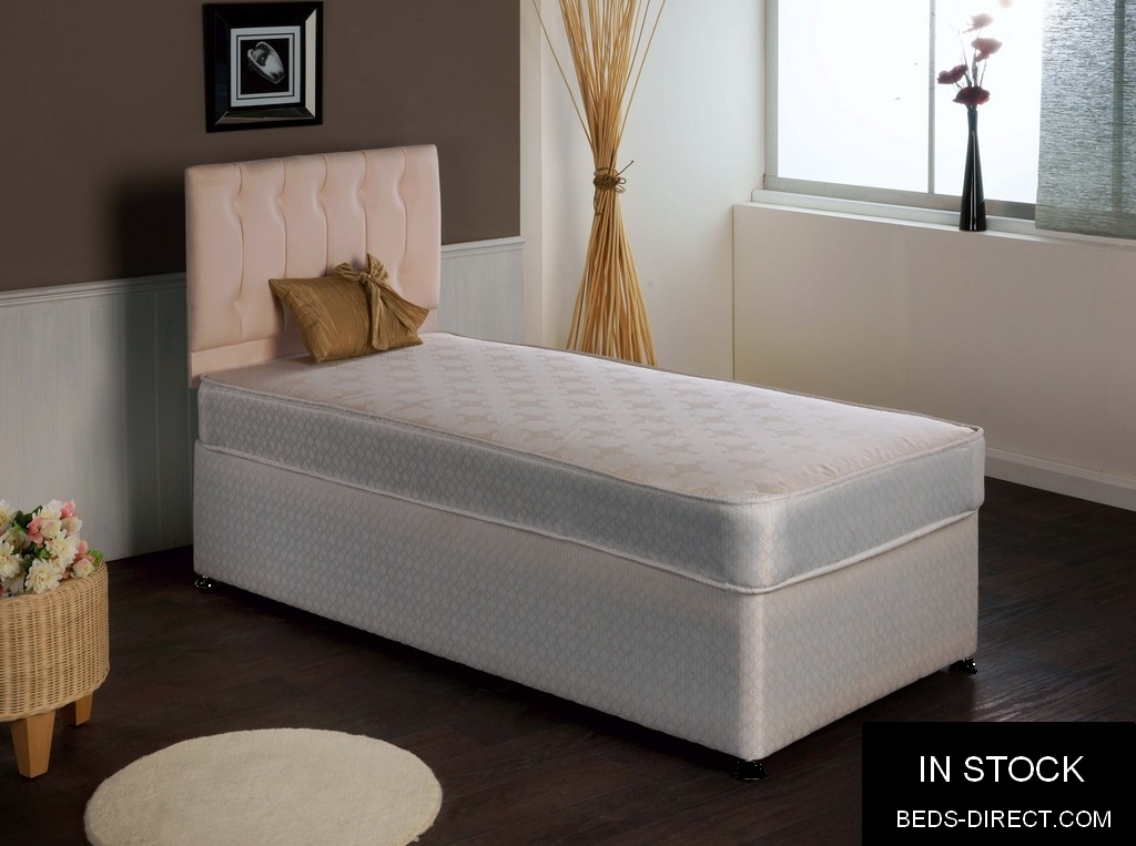 4ft6 Beds Direct Ashford Damask Drawer Divan Bed