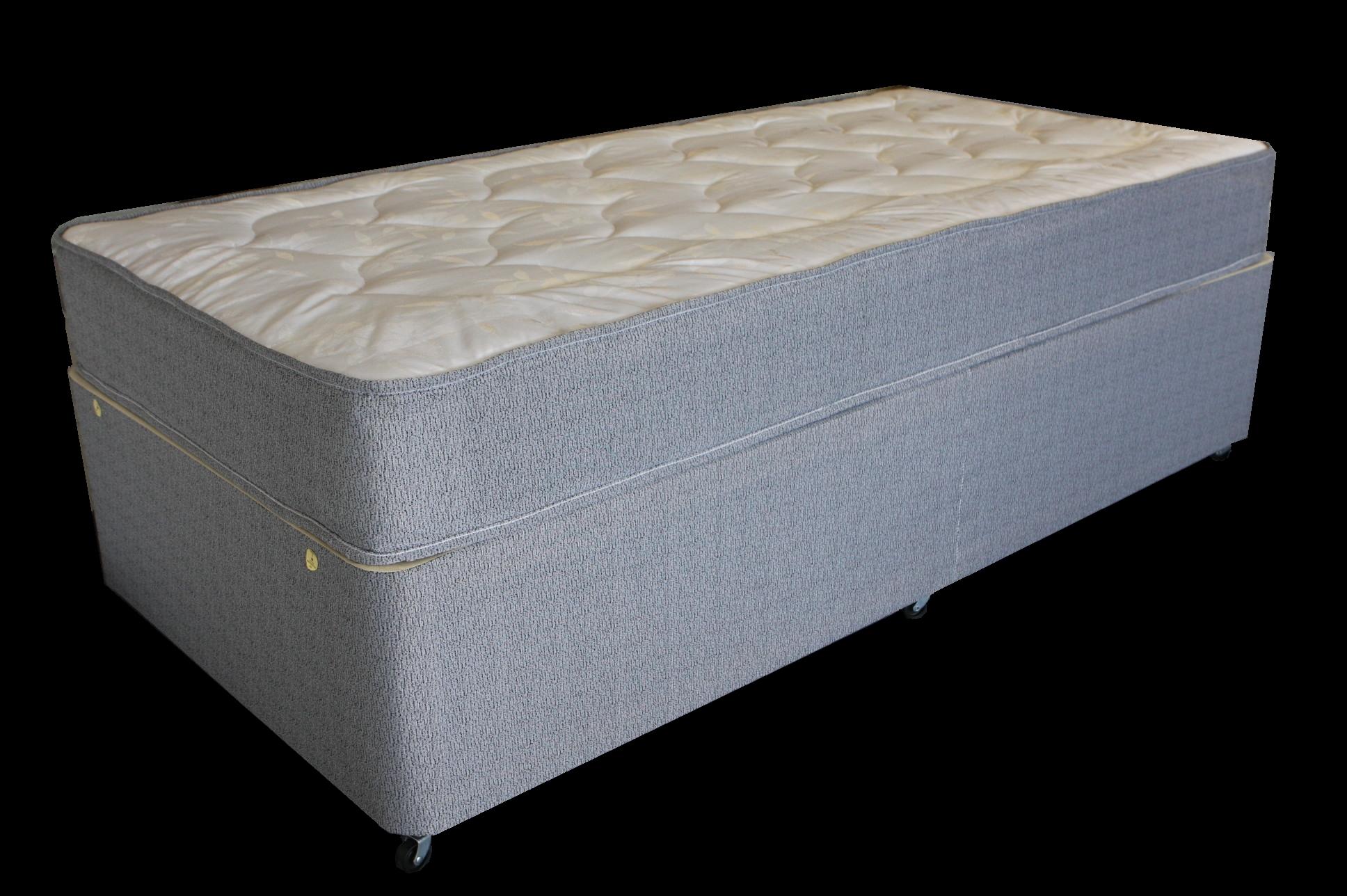 2ft6 Small Single Deluxe Comfort Divan Bed