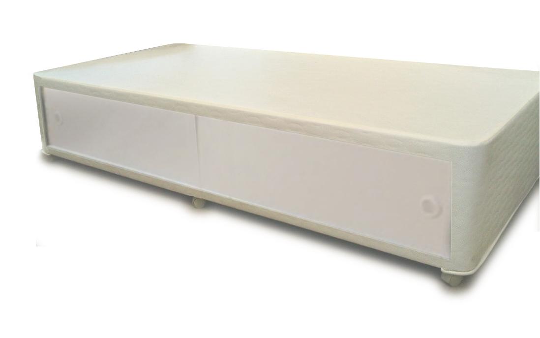 3ft Buckingham Slider Storage Divan Bed Base Only