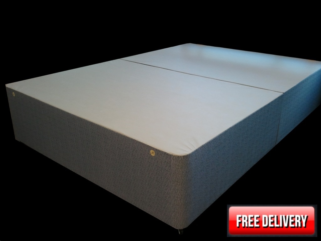 4ft6 x 6ft6 Comfy Divan Bed Base Only