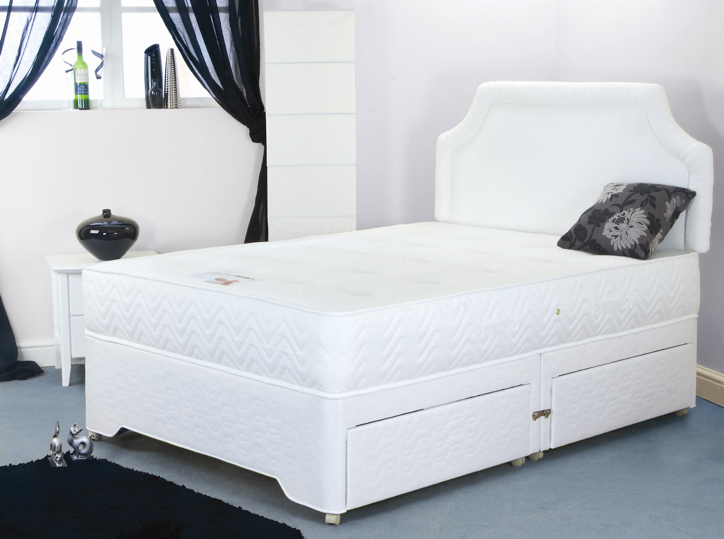 4ft6 Pocket Choice Divan Set
