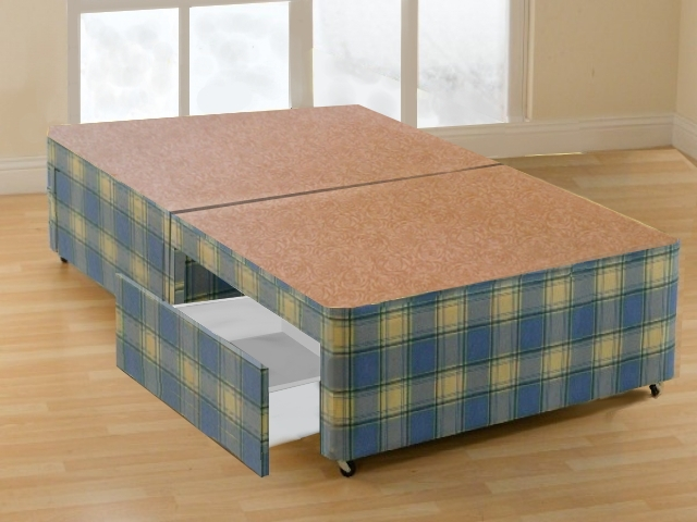 Ritz 4 Small Double Platform Top Four Drawer Divan Bed Bed Mattress Sale