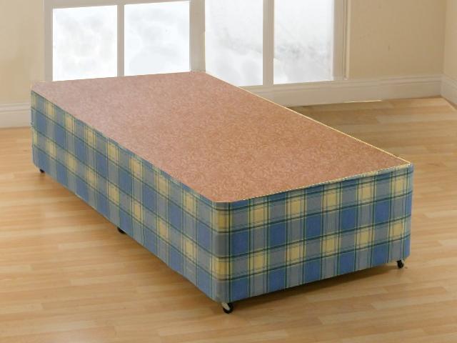 2ft6 Small Single Prado Non Storage Divan Bed Base Only