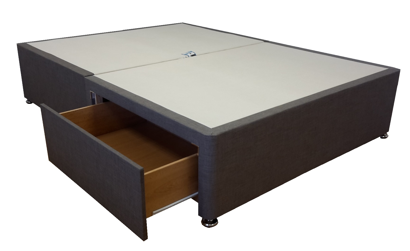 online store bf784 0cb02 5ft King size Heavy Duty strong divan bed base only. Choice of fabrics