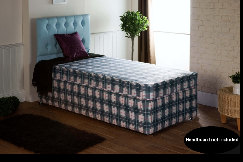2ft6 Small Single Beds Direct Budget Divan Bed
