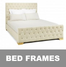Bed Frames - metal, wooden, pine, faux leather, leather bed steads, in  sizes 2ft6 to 6ft