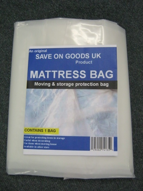 SUPER HEAVY DUTY Mattress Storage Bag - 5ft Kingsize