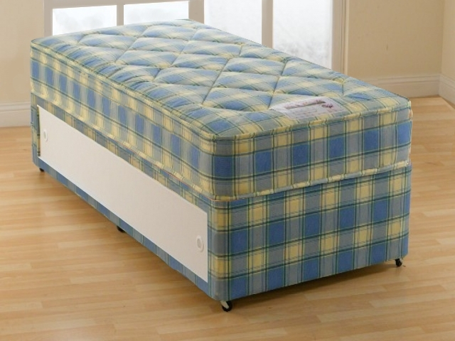 2ft6 Small Single Super Ortho Divan Set